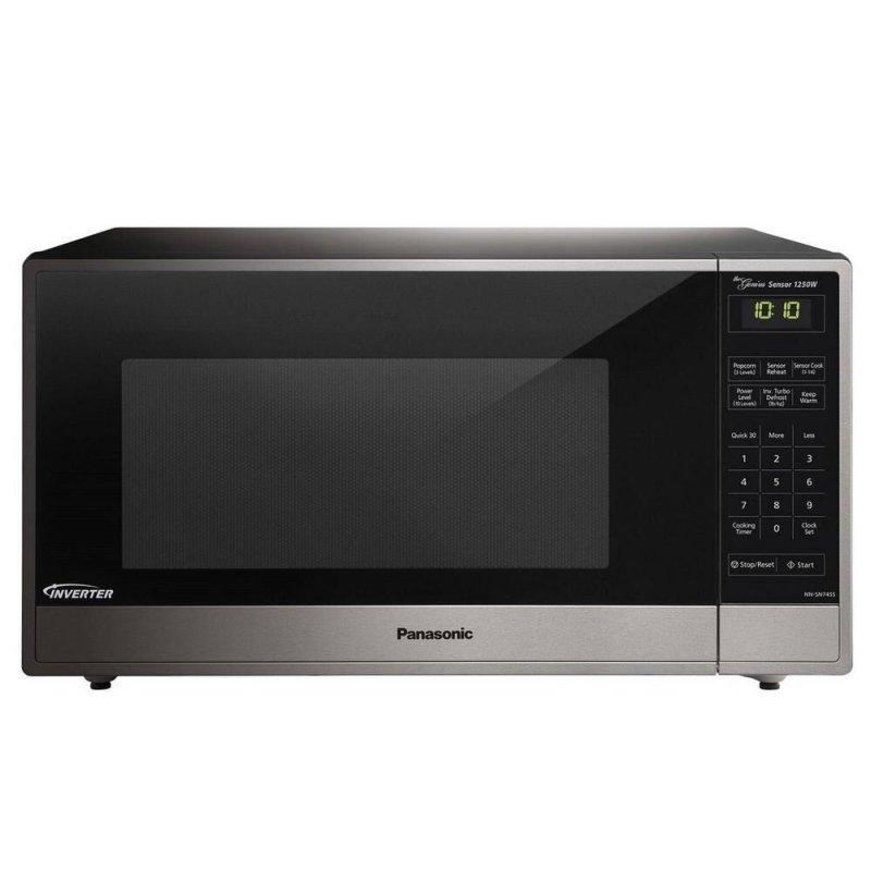 1.6 Cu. Ft. Built-in/Countertop Microwave Oven with Inverter Technology - Stainless Steel - NN-SN745S