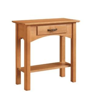 Leisters Furniture - Chairside Table with Drawer and Shelf