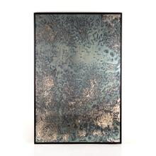 Acid Wash Floor Mirror-iron Matte Black