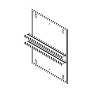 "Profiles 30"" X 40"" X 15/16"" Mirror Ganging Kit for A Seamless Transition With Profiles Cabinets and Profiles Lighting (depth Is 4-11/16"" When Surface-mounted) Product Image"