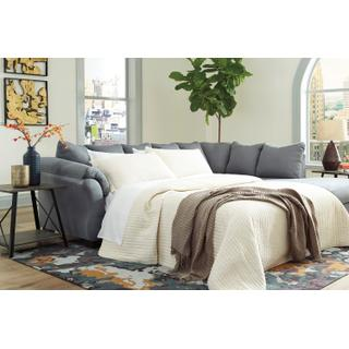 Darcy Steel Sleeper Sectional Right