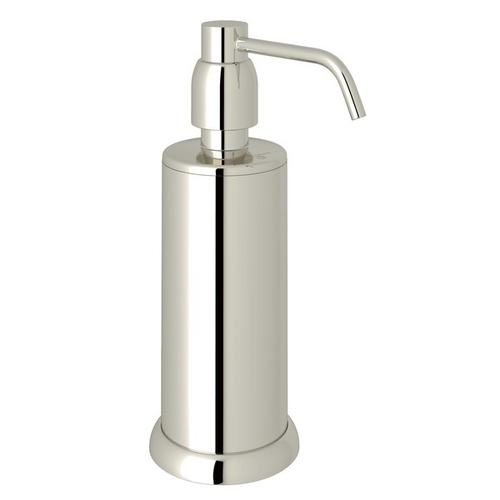 Polished Nickel Perrin & Rowe Holborn Free Standing Soap Dispenser