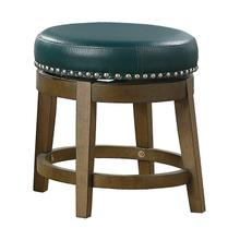 See Details - Round Swivel Stool, Green