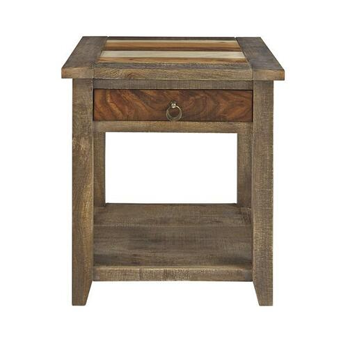 End Table - Smoked Umber Finish