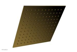 "12"" X 12"" Square Shower Head 3-337 - French Brass Product Image"