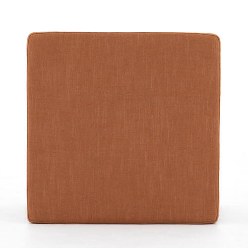 Savoy Rust Cover Ainsley Ottoman