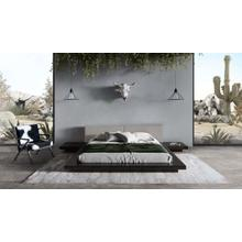 View Product - Modrest Tokyo - Contemporary Black and Grey Platform Bed