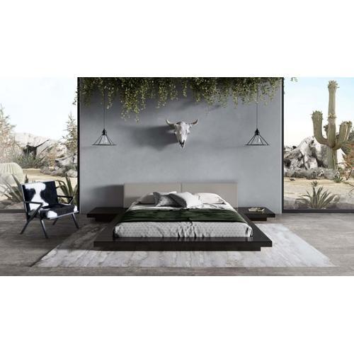 VIG Furniture - Modrest Tokyo - Contemporary Black and Grey Platform Bed