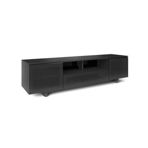 8239 S Slim Quad Width Cabinet in Black