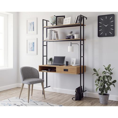 Sauder - Wall-Mounted Home Office Desk