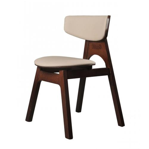 Gallery - Modrest Beeler - Modern Light Grey Dining Chair (Set of 2)