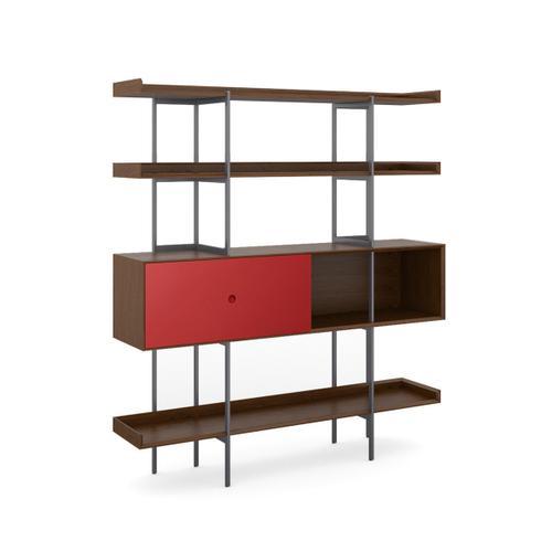 5201 Shelf in Toasted Walnut Cayenne