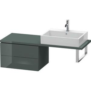Low Cabinet For Console Compact, Dolomiti Gray High Gloss (lacquer)