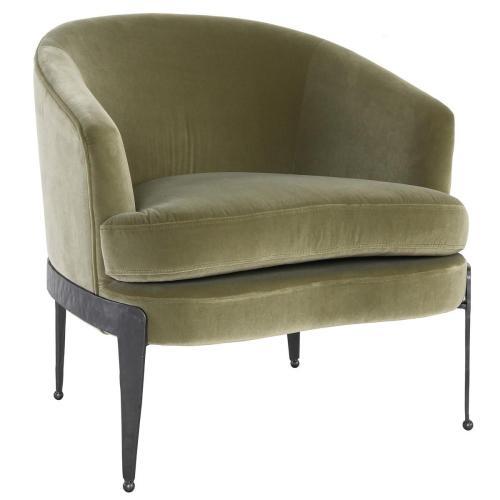 Aurelia Accent Chair Olive