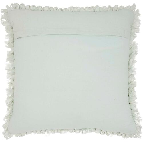 """Shag Dl658 Spa 20"""" X 20"""" Throw Pillow"""