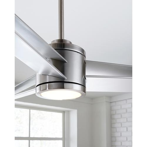 Monte Carlo Fans - Armstrong 60 LED - Brushed Steel