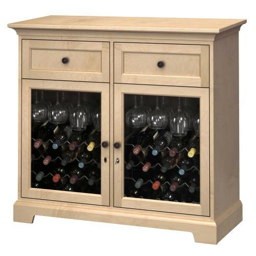 Howard Miller - WS46F Wine & Bar Custom Console