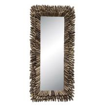 """View Product - 24""""L x 52-1/2""""H Driftwood Framed Mirror"""