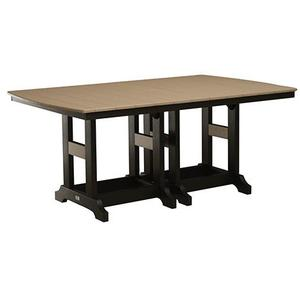 "44"" x 72"" Rectangular Dining Table"