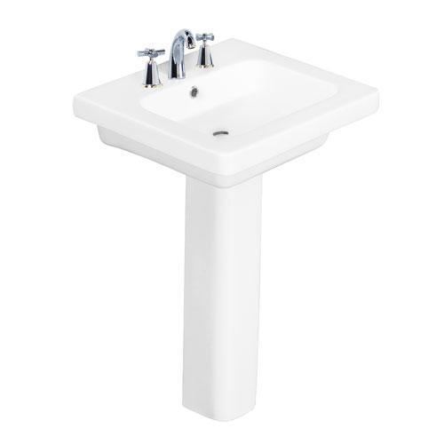 "Resort 500 Pedestal Lavatory - 8"" Widespread"
