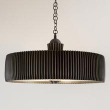 See Details - Crimp Chandelier-Bronze