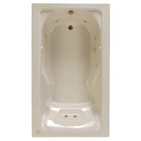 Cadet 72x42 inch Bathtub - White