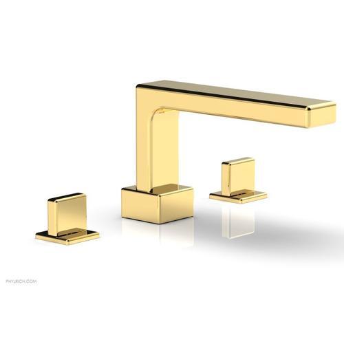 MIX Deck Tub Set - Blade Handles 290-40 - Polished Gold