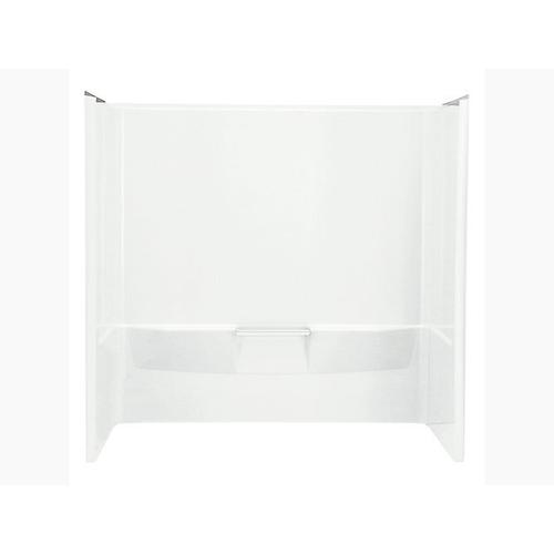 """Sterling - Performa 60"""" x 30-1/4"""" wall set with Aging in Place backerboards - White"""