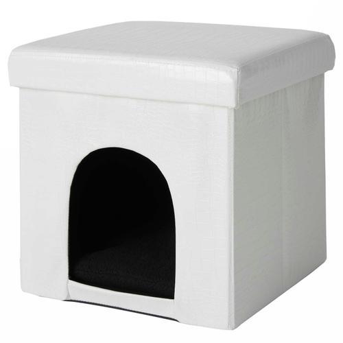 """Pet Beds Ht015 White 15"""" X 15"""" X 15"""" Pet Bed"""