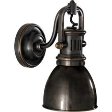 E. F. Chapman Yoke 1 Light 5 inch Bronze Suspended Wall Sconce Wall Light