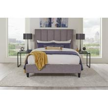 AVERY - STREAM Upholstered Bed Collection (Grey)