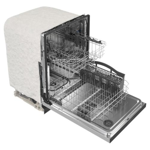 Maytag - Stainless steel tub dishwasher with Dual Power filtration