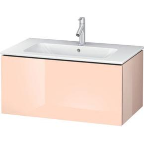 Vanity Unit Wall-mounted, Apricot Pearl High Gloss (lacquer)