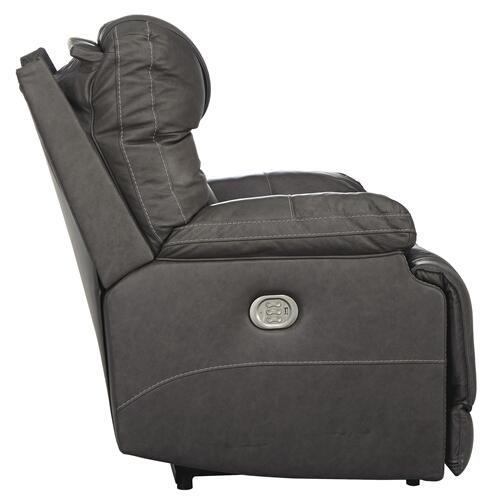 POWER RECLINER WITH ADJUSTABLE HEADREST AND LUMBAR