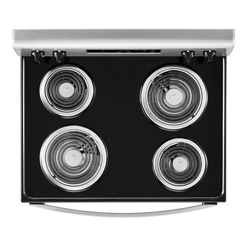 Product Image - 4.8 cu. ft. Whirlpool® electric range with Keep Warm setting
