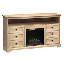 See Details - FT72E Extra Tall Fireplace Custom TV Console