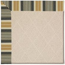 Creative Concepts-White Wicker Long Hill Ebony Machine Tufted Rugs