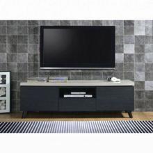 ACME Magna TV Stand - 91405 - Faux Concrete & Black