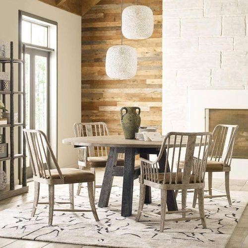 """Trails Layton 64"""" Round Dining Table"""