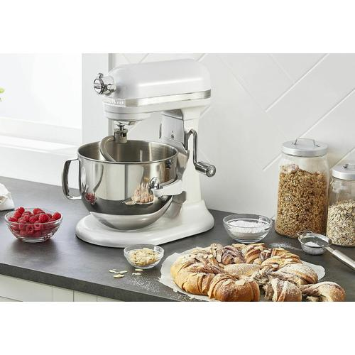KitchenAid Canada - Pro Line® Series 7-Qt Bowl Lift Stand Mixer - Frosted Pearl White