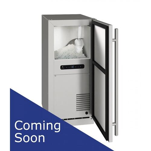 "15"" Nugget Ice Machine With Stainless Solid Finish (230 V/50 Hz Volts /50 Hz Hz)"