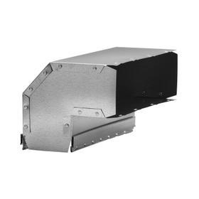 Broan-NuTone® Vertical Elbow Transition for Range Hoods and Bath Ventilation Fans