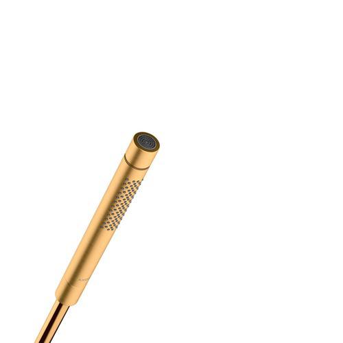 Brushed Gold Optic Baton hand shower 2jet