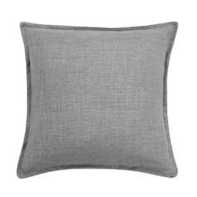 Linen Cushion - Grey / Cover Only