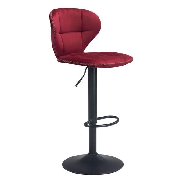 See Details - Salem Bar Chair Red