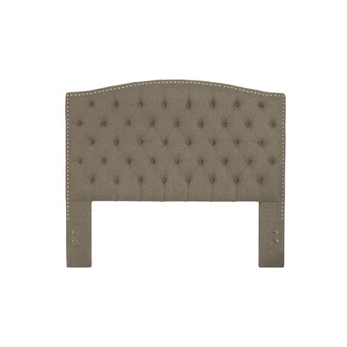 Lila Queen Headboard - Natural Herringbone