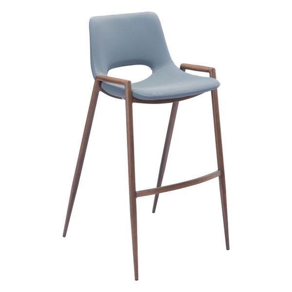 See Details - Desi Bar Chair Gray