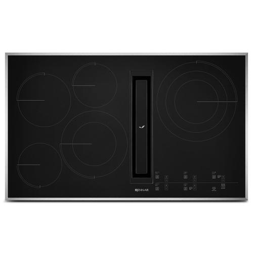"""Euro-Style 36"""" JX3 Electric Downdraft Cooktop with Glass-Touch Electronic Controls Stainless Steel"""