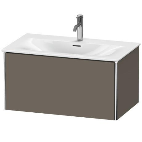 Vanity Unit Wall-mounted, Flannel Gray Satin Matte (lacquer)