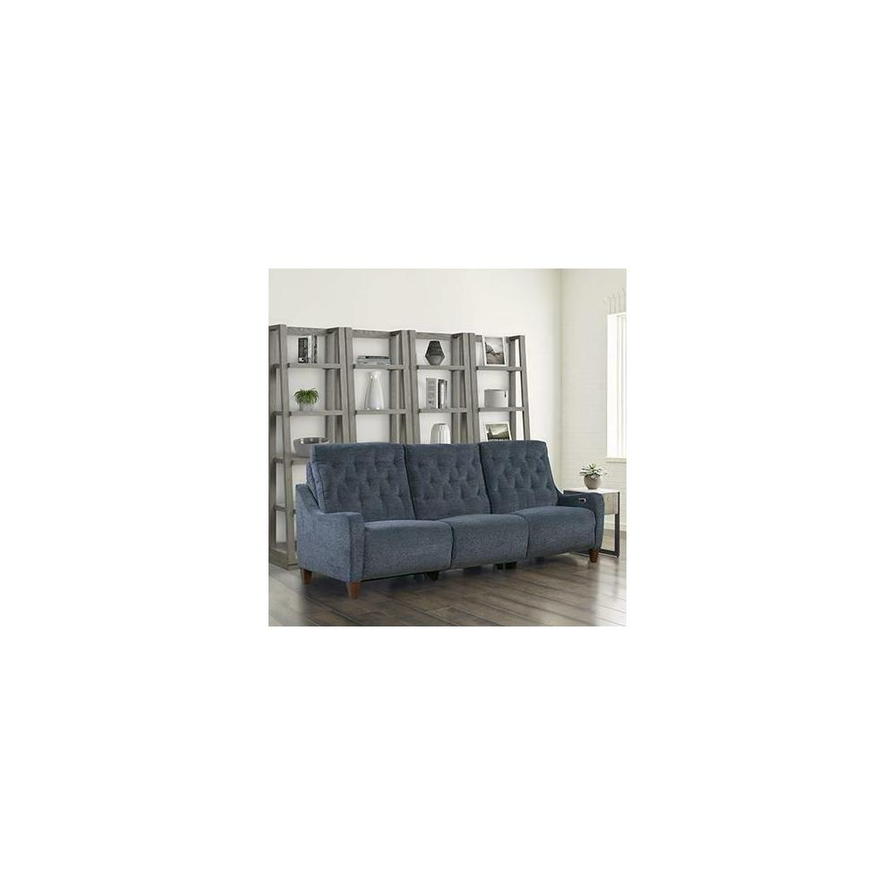 See Details - CHELSEA - WILLOW BLUE Power Sofa (811LP, 840, 811RP)
